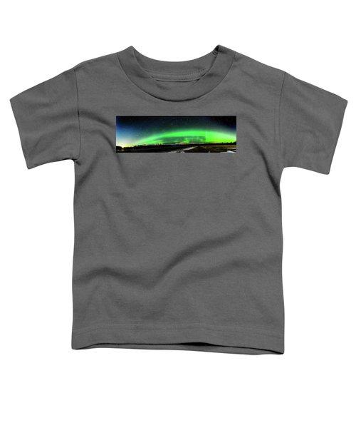 Little House Under The Aurora Toddler T-Shirt