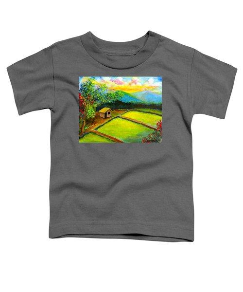 Little Hut In The Farm Toddler T-Shirt