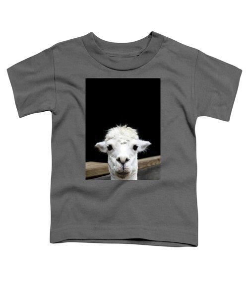 Llama Toddler T-Shirt by Lauren Mancke