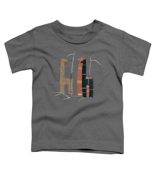 Llamas T Shirt Design Toddler T-Shirt by Bellesouth Studio