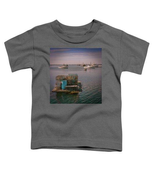 Lobstar Pot Float Toddler T-Shirt
