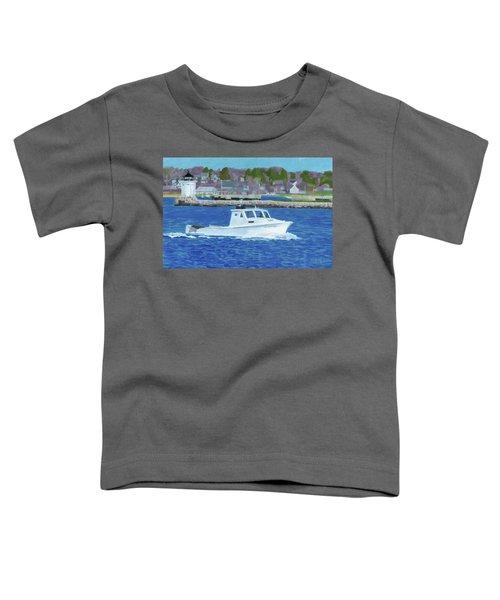 Lobster Boat And Bug Light Toddler T-Shirt