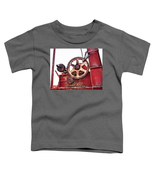 Toddler T-Shirt featuring the photograph Locked In History by Stephen Mitchell