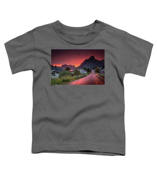 Lofoten Nightlife  Toddler T-Shirt