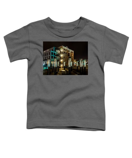 Lofts Overlooking Water Forest Toddler T-Shirt