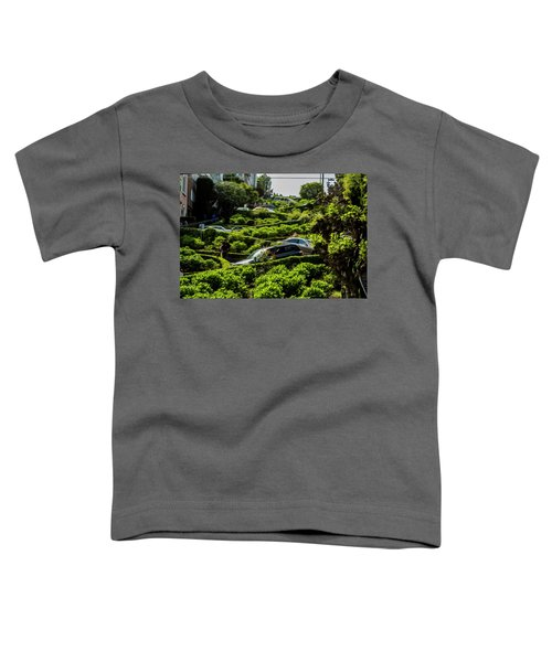 Lombard Street Toddler T-Shirt
