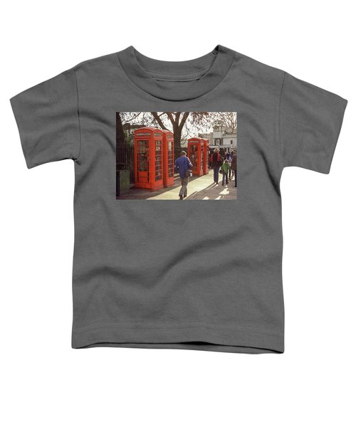 London Call Boxes Toddler T-Shirt