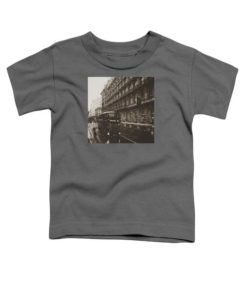 London Rain Toddler T-Shirt