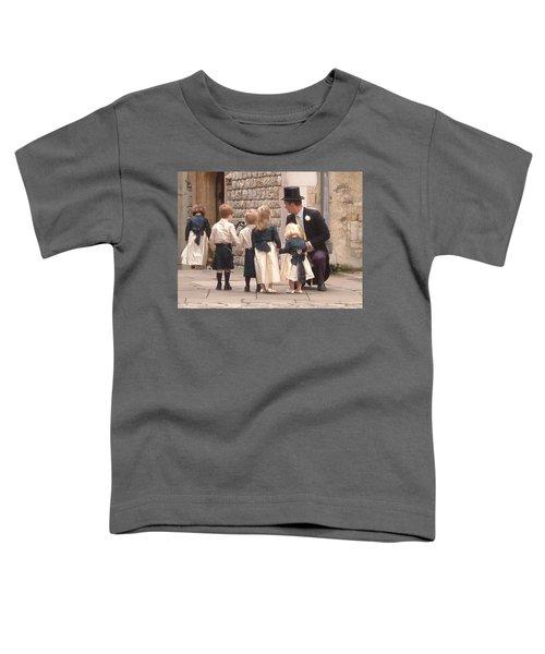 London Tower Wedding Toddler T-Shirt