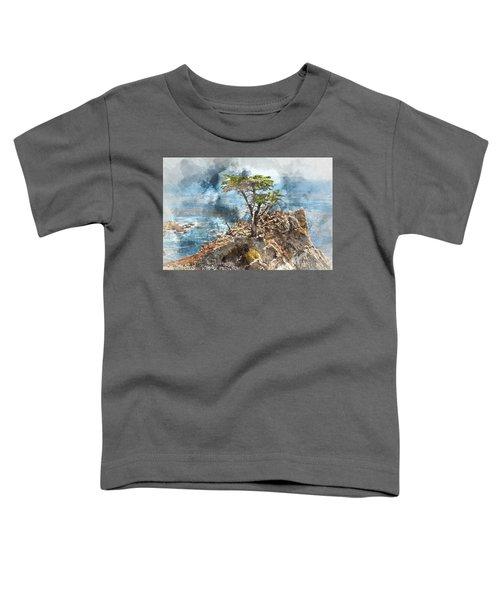 Lone Cypress In Monterey California Toddler T-Shirt