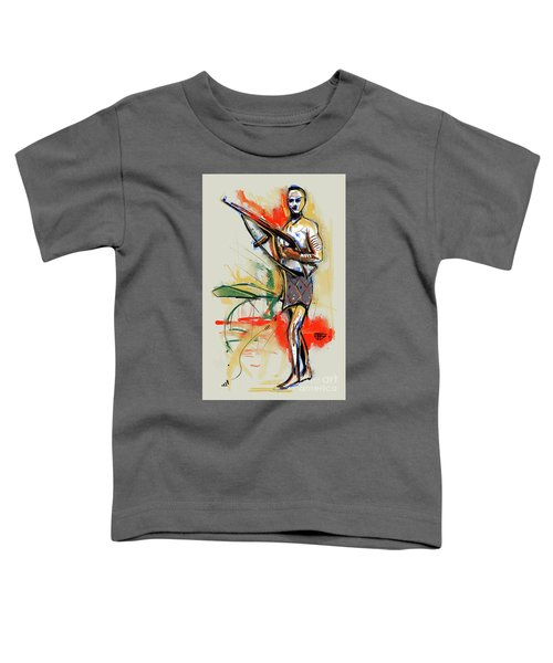 Lone Native Soldier Toddler T-Shirt