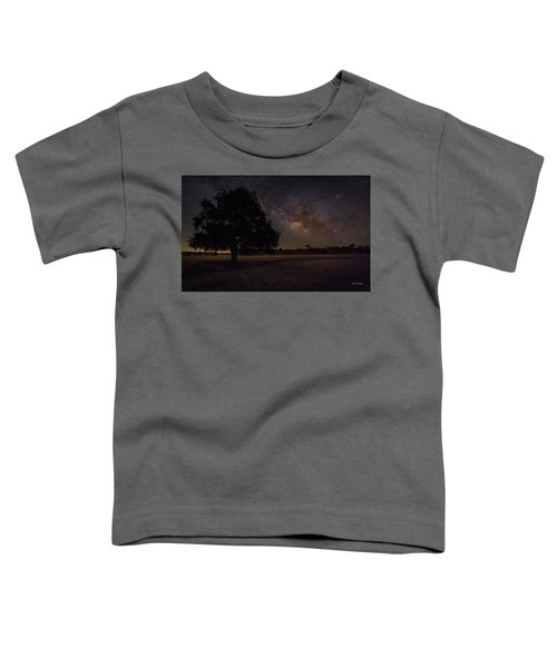 Lone Oak Under The Milky Way Toddler T-Shirt