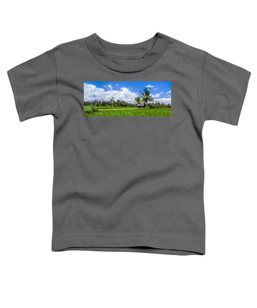 Lonely Rice Hut Toddler T-Shirt