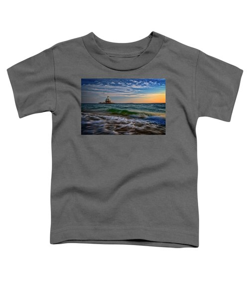 Long Beach Bar Lighthouse Toddler T-Shirt