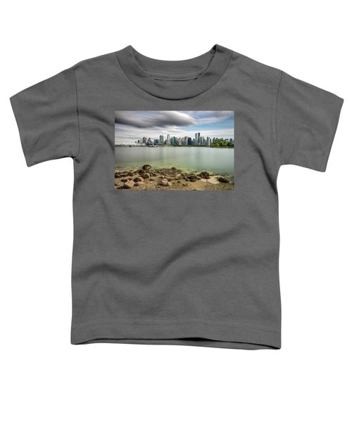 Long Exposure Of Vancouver City Toddler T-Shirt