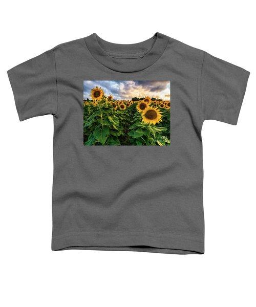 Long Island Sunflowers  Toddler T-Shirt