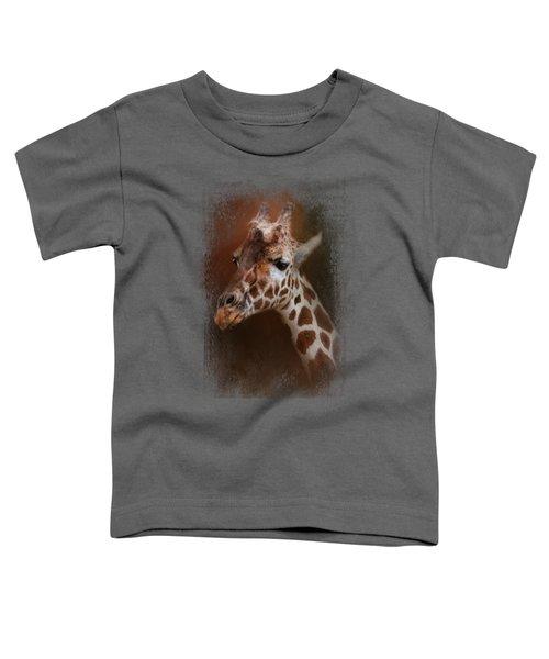 Long Neck Toddler T-Shirt by Jai Johnson