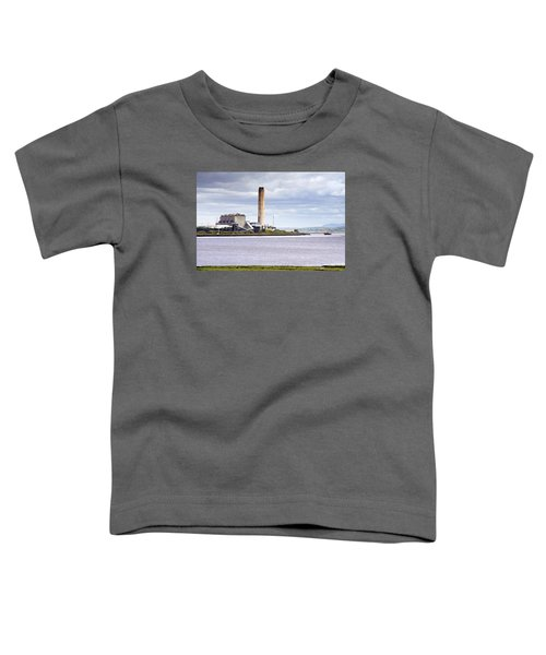 Toddler T-Shirt featuring the photograph Longannet Power Station by Jeremy Lavender Photography