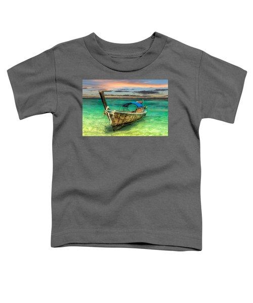 Longboat Sunset Toddler T-Shirt