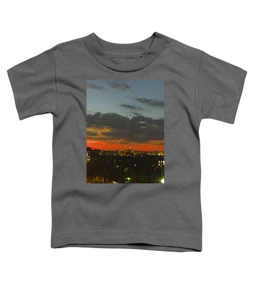 Longhorn Dusk Toddler T-Shirt