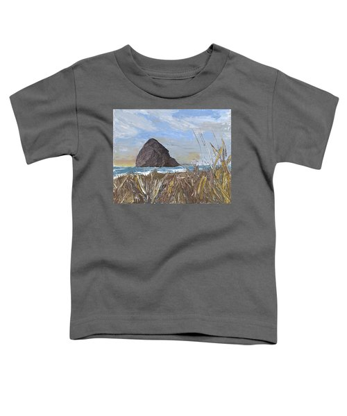 Longing For The Sounds Of Haystack Rock Toddler T-Shirt