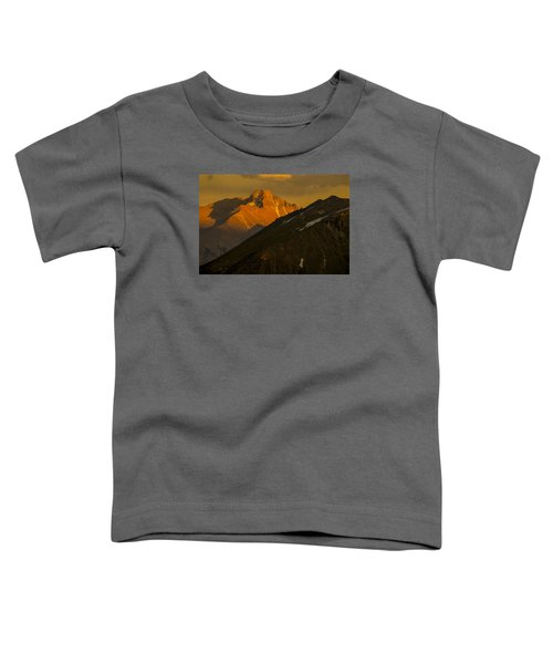 Long's Peak Toddler T-Shirt by Gary Lengyel