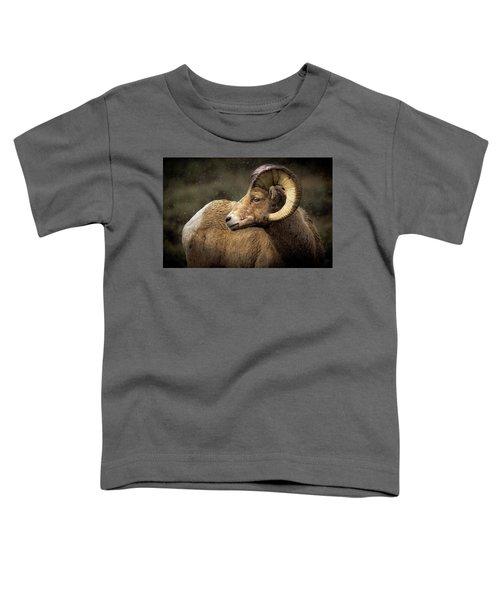 Looking Back - Bighorn Sheep Toddler T-Shirt