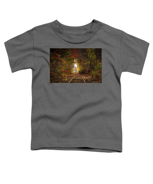 Looking Down The Tracks Toddler T-Shirt