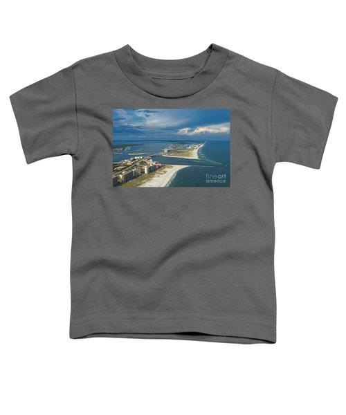 Looking East Across Perdio Pass Toddler T-Shirt