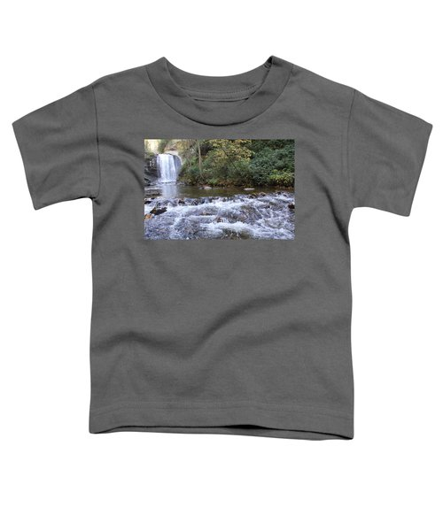 Looking Glass Falls Downstream Toddler T-Shirt