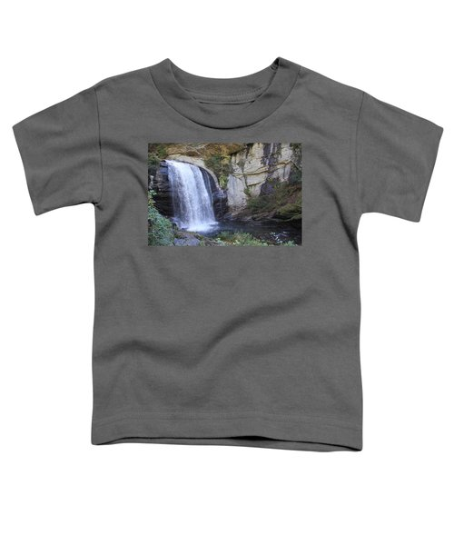 Looking Glass Falls Side View Toddler T-Shirt
