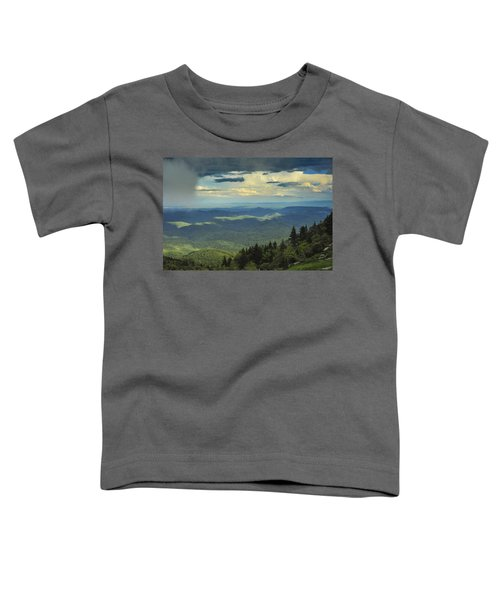 Looking Over The Valley Toddler T-Shirt