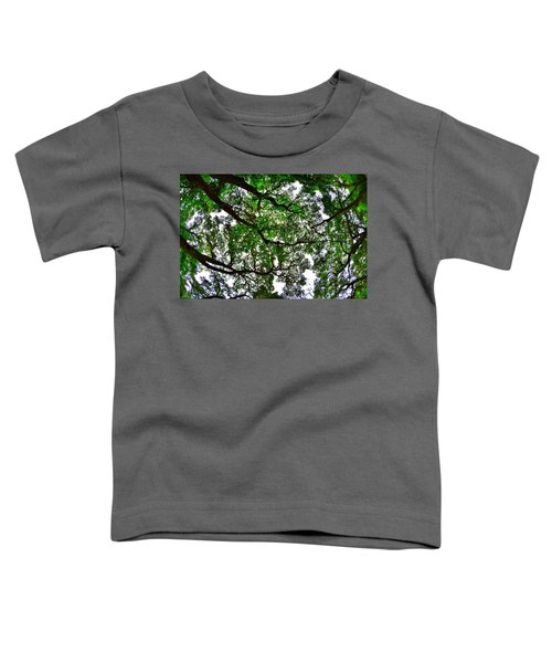 Looking Up The Oaks Toddler T-Shirt