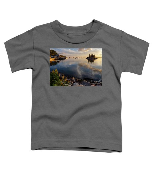 Lookout Point, Harpswell, Maine  -99044-990477 Toddler T-Shirt