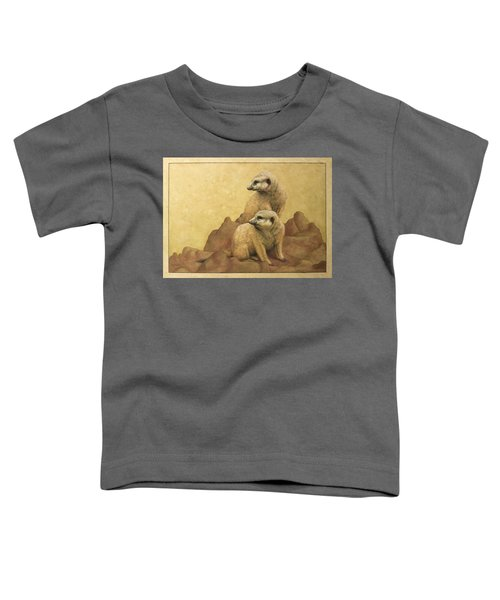 Lookouts Toddler T-Shirt by James W Johnson