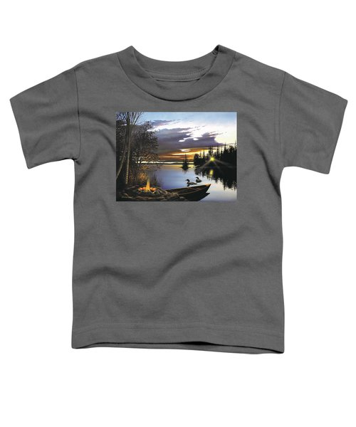 Loon Lake Toddler T-Shirt