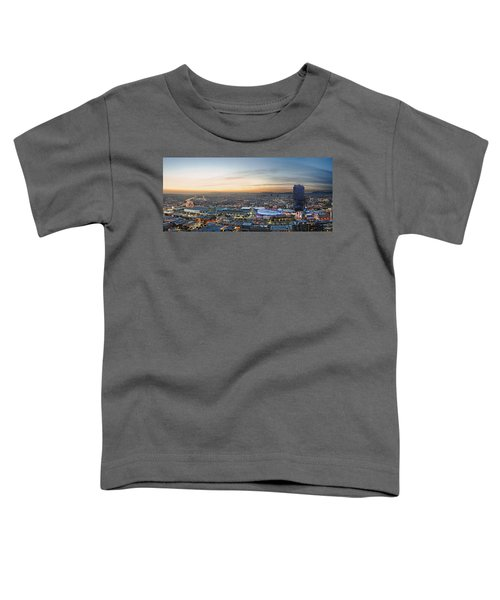 Los Angeles West View Toddler T-Shirt by Kelley King