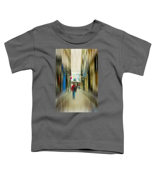 Lost In The Maze Of The City Toddler T-Shirt