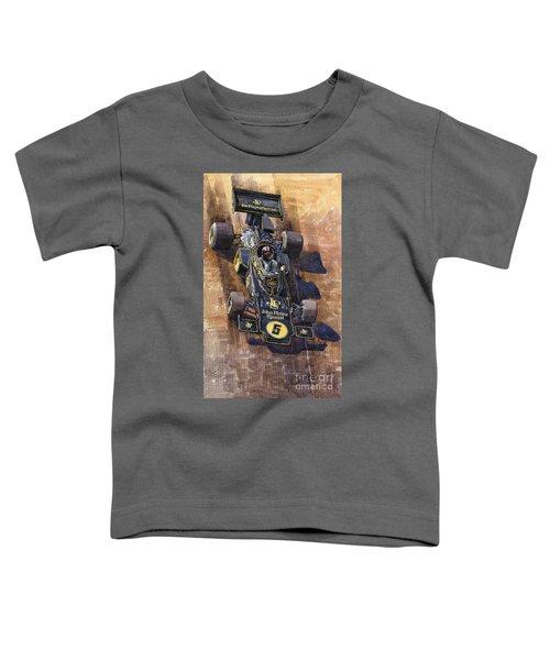Lotus 72 Canadian Gp 1972 Emerson Fittipaldi  Toddler T-Shirt