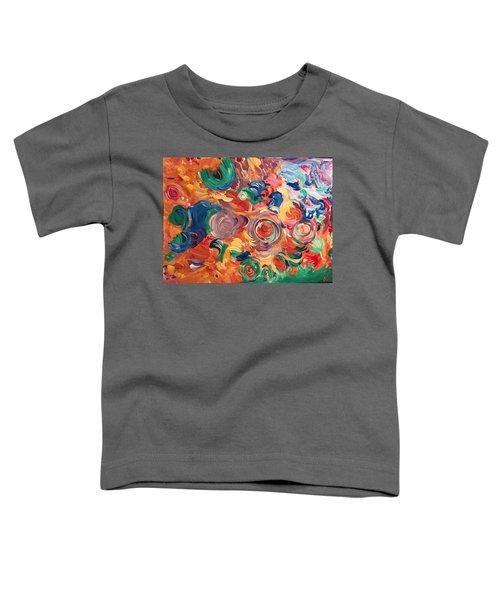 Lotus Blooms Toddler T-Shirt