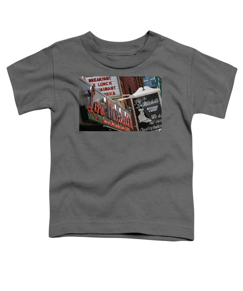 Lou Mitchells Restaurant And Bakery Chicago Toddler T-Shirt