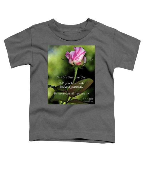 Love And Gratitude Toddler T-Shirt