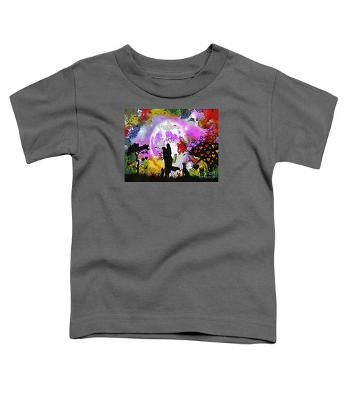 Love Family And Friendship In The Mix Toddler T-Shirt