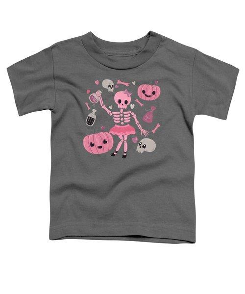 Love Potion Skeleton Dance Toddler T-Shirt