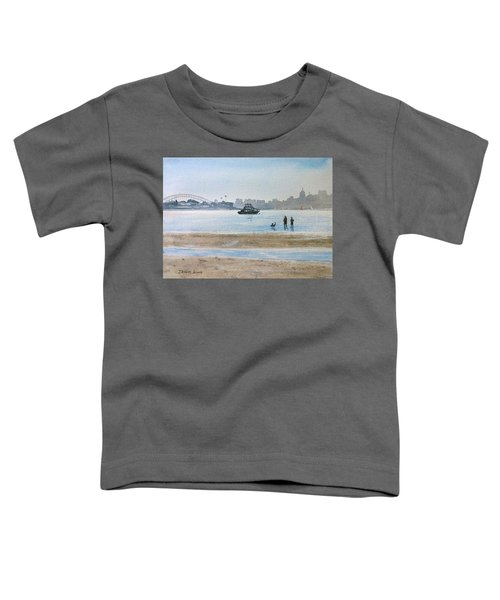 Low Tide At Rose Bay Toddler T-Shirt