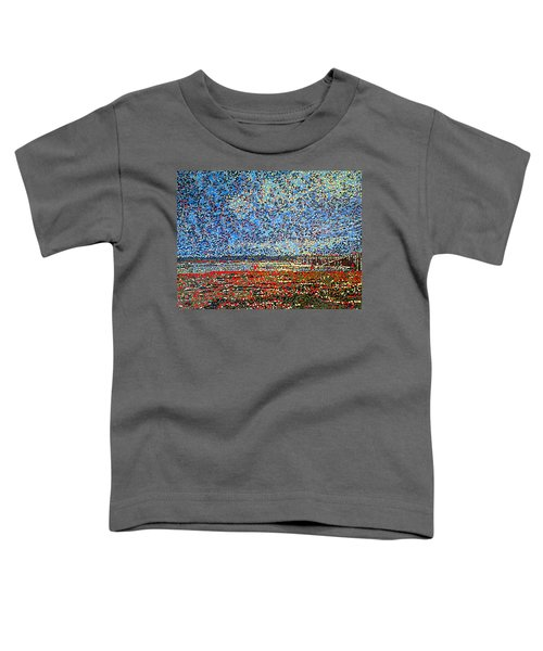 Low Tide - St. Andrews Wharf Toddler T-Shirt