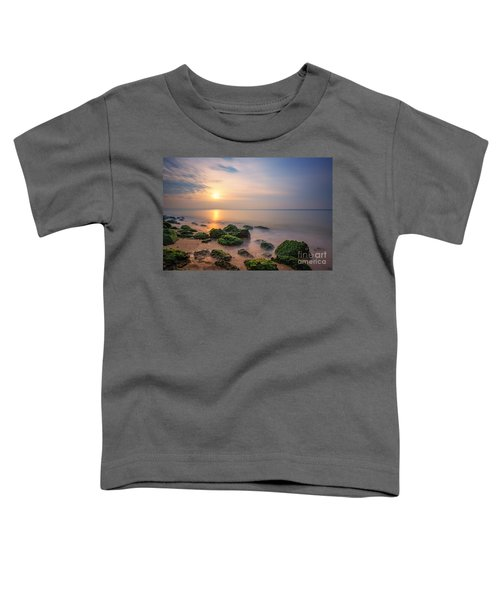 Low Tide Sunset  Toddler T-Shirt