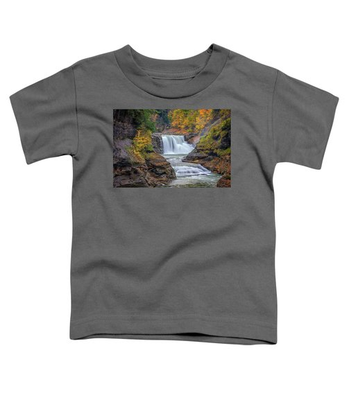 Lower Falls In Autumn Toddler T-Shirt