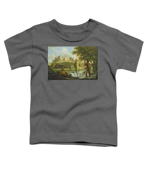 Ludlow Castle With Dinham Weir Toddler T-Shirt