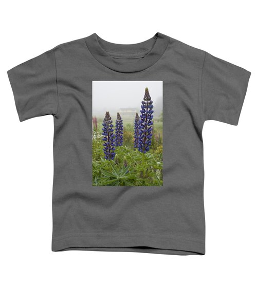 Lupine In The Fog Toddler T-Shirt